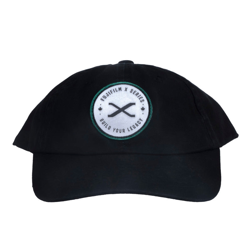 FUJIFILM X SERIES - BUILD YOUR LEGACY HAT - BLACK