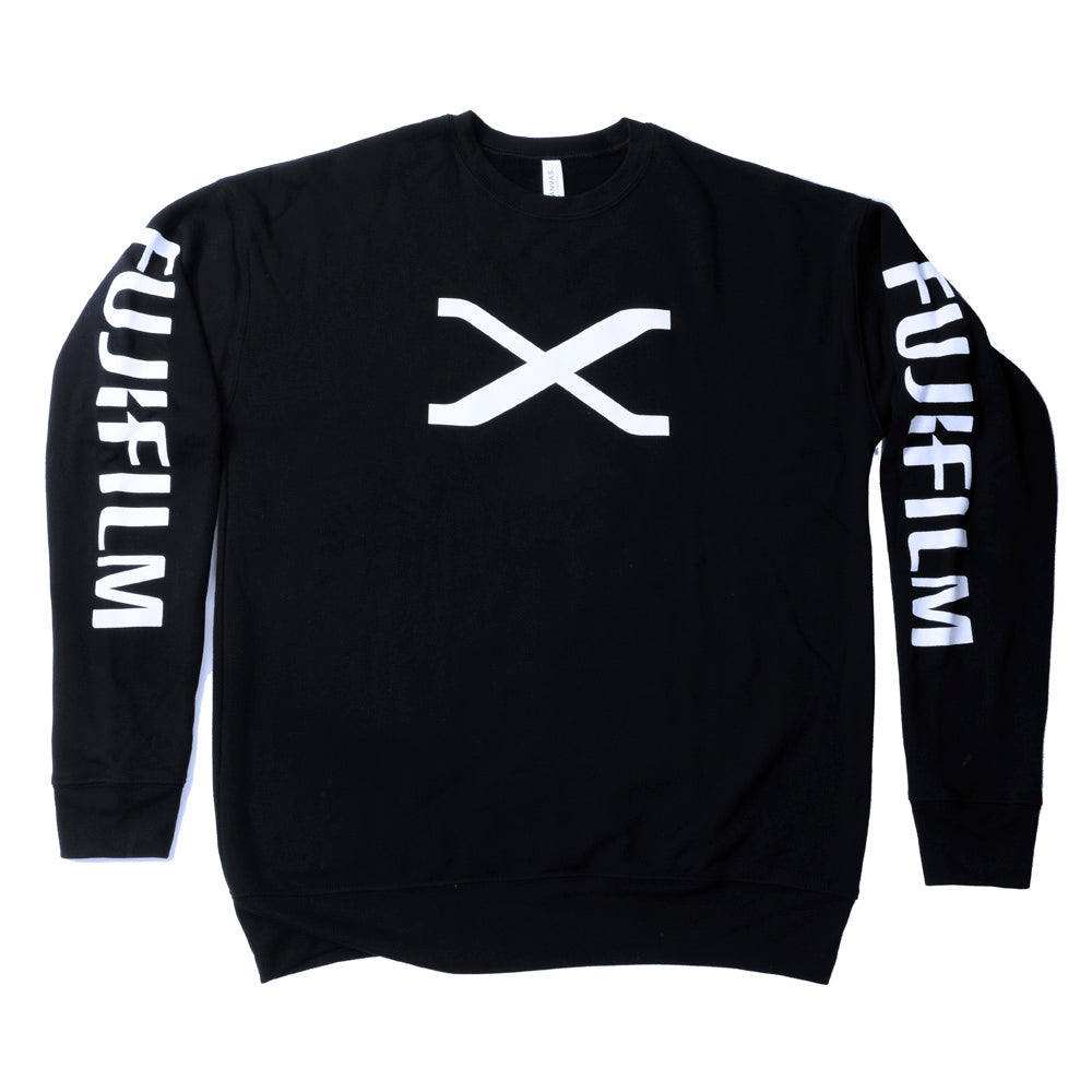 FUJIFILM X SERIES DROP SHOULDER FLEECE - BLACK