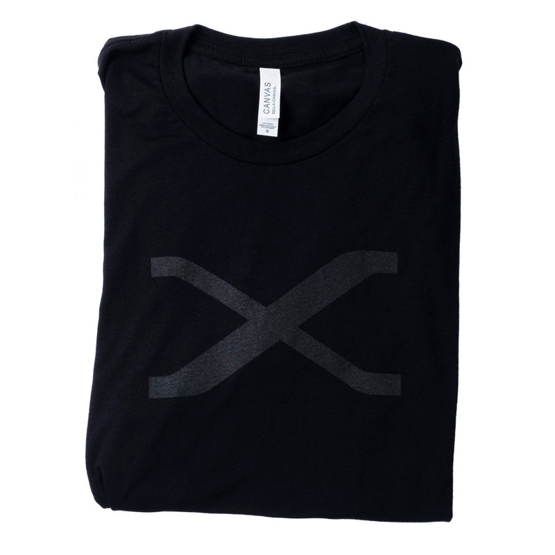 FUJIFILM X SERIES LADIES TONE ON TONE T-SHIRTS - BLACK