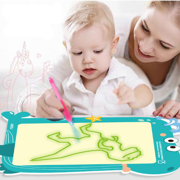 [theverifiedfacts] Cartoon Light Drawing - Fun And Developing Toy ( Buy 2 Get Extra 10% Off )