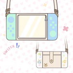 Animal Crossing Crossbody PU Leather Bag