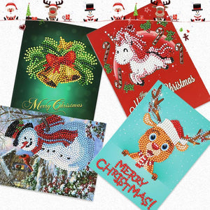 Christmas Pre Promotion🎅Diamond Painting Christmas Card