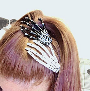 Skeleton Hair Clips 2 pairs ( Buy 2 Get Extra 10% Off )