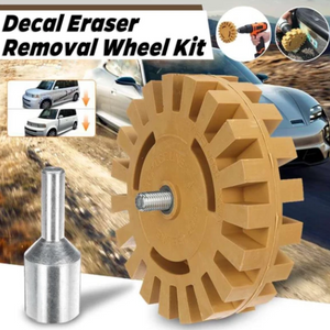 Tool-Pro™ Decal Eraser Removal Wheel Kit