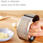 Chefs Recommended Stainless Steel Garlic Press TopViralPick