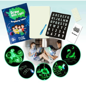 [tipstotrain] Light Drawing - Fun And Developing Toy ( Buy 2 Get Extra 10% Off )