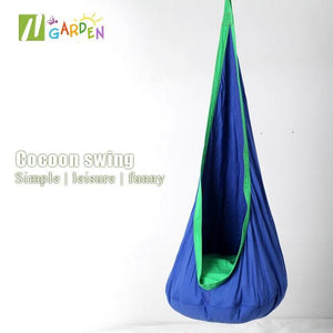 Sensory Pod Swing ( Buy 2 Get Extra 10% Off ) TopViralPick Blue