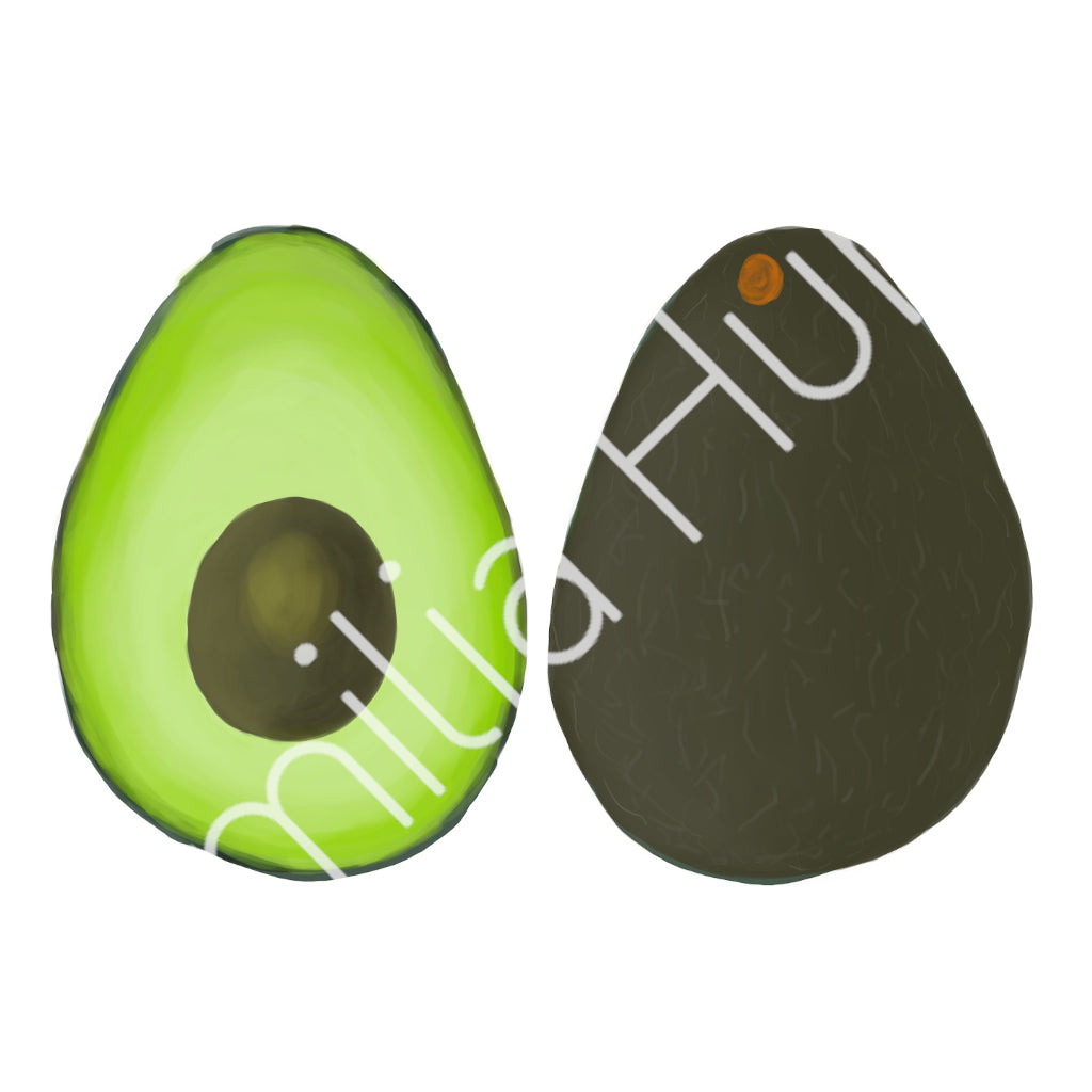 Avocado Cotton Fabric - Medium