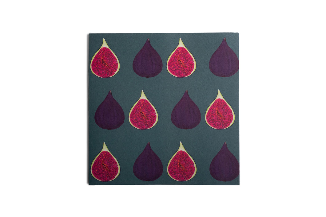Fig Greetings Card