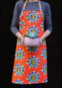 Passion Flower Apron