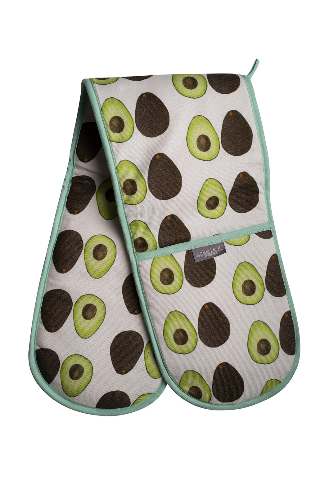 Avocado Double Oven Gloves