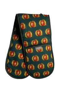 Green Conker Double Oven Gloves