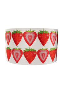 35cm Strawberry Velvet Lampshade