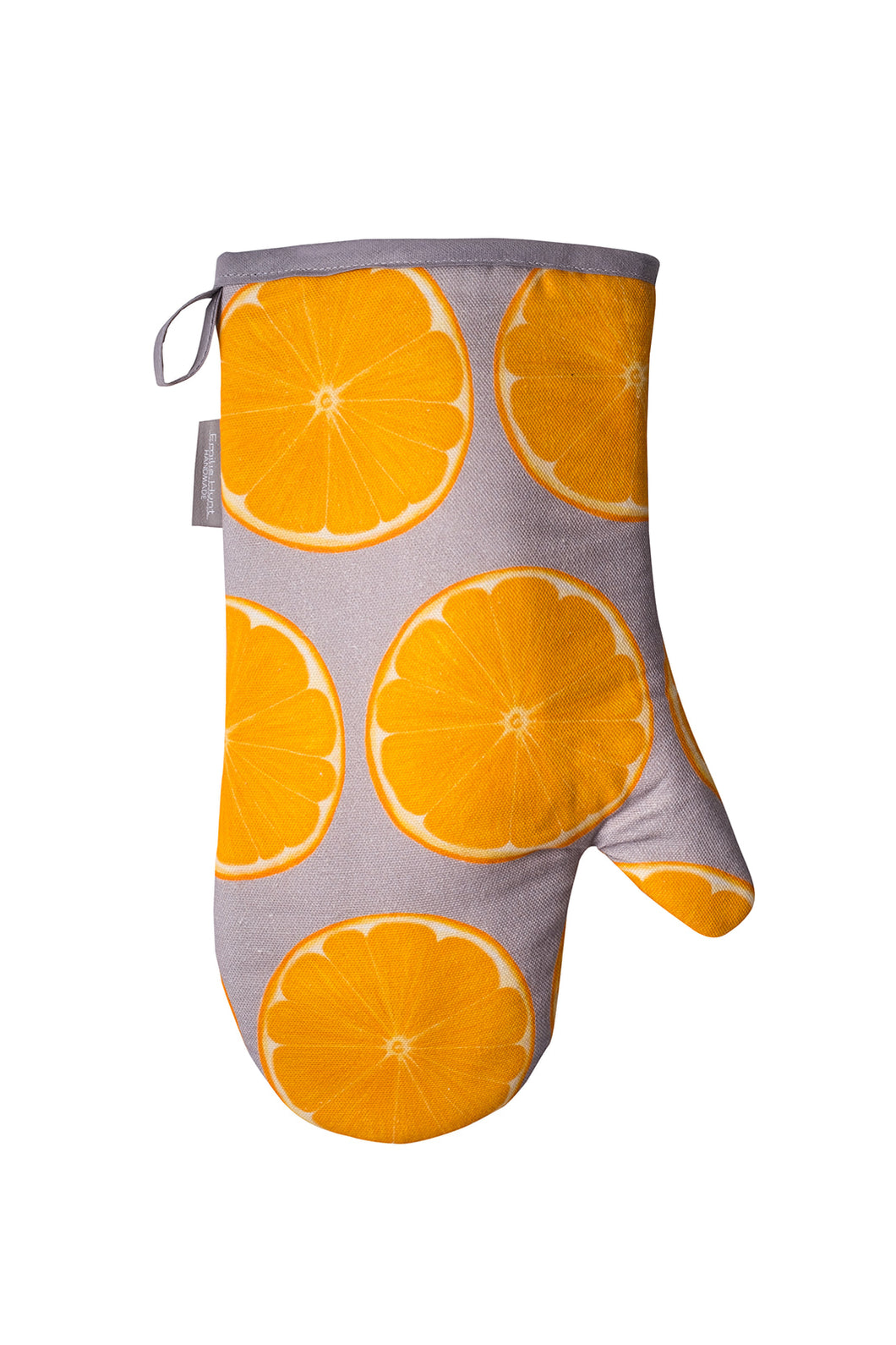 Orange Slice Single Oven Mitt