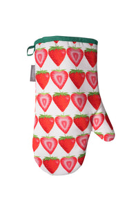 Strawberry Single Oven Mitt