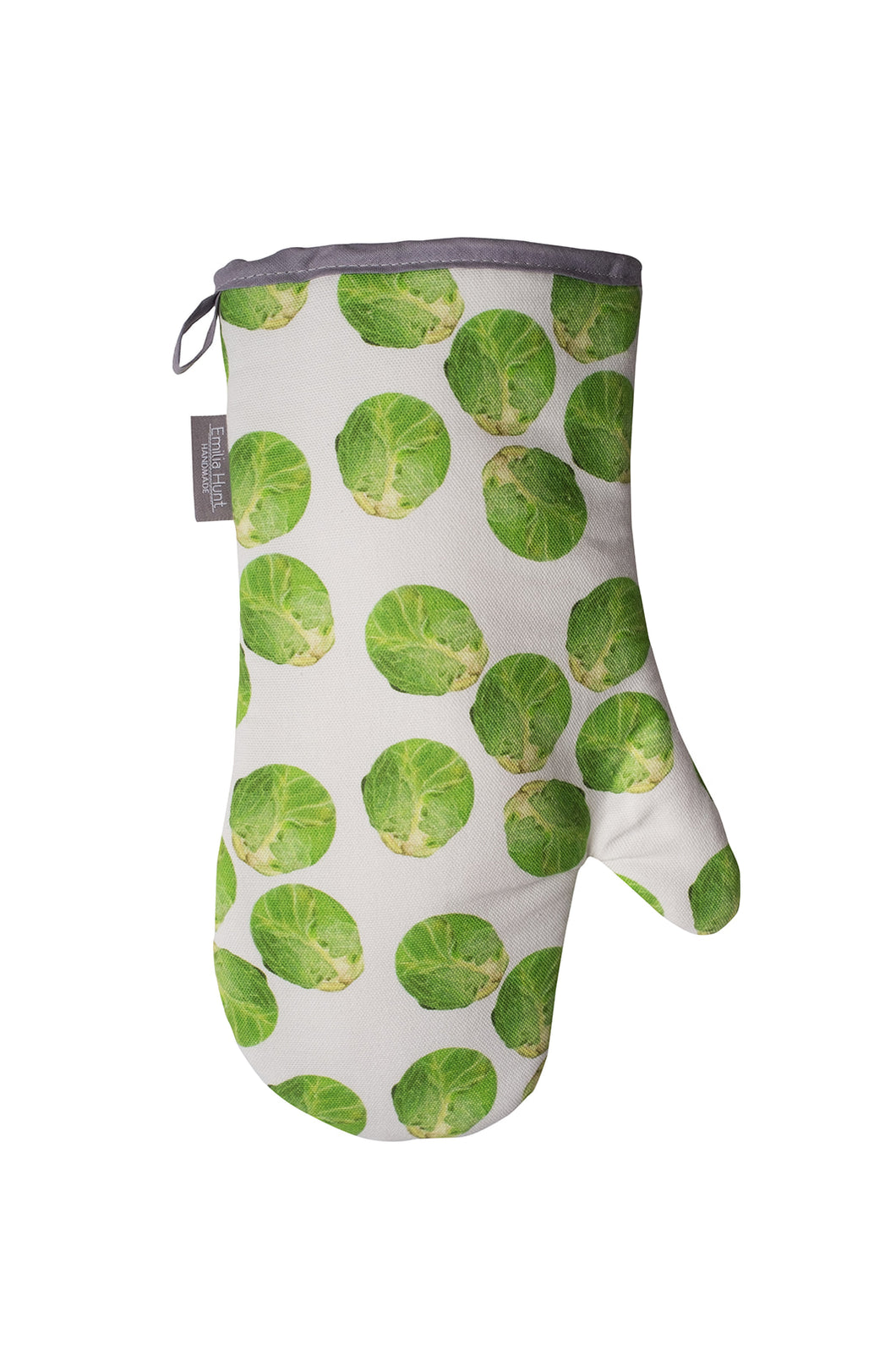 White Sprout Single Oven Mitt