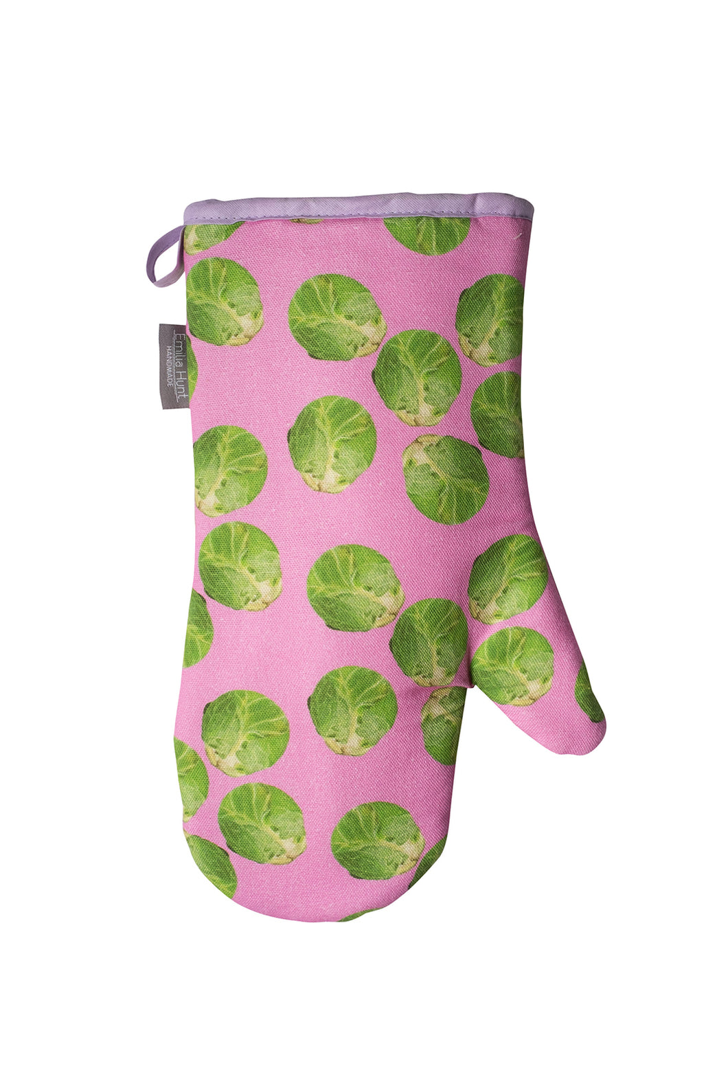 Pink Sprout Single Oven Mitt