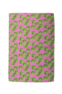 Pink Sprout Tea Towel