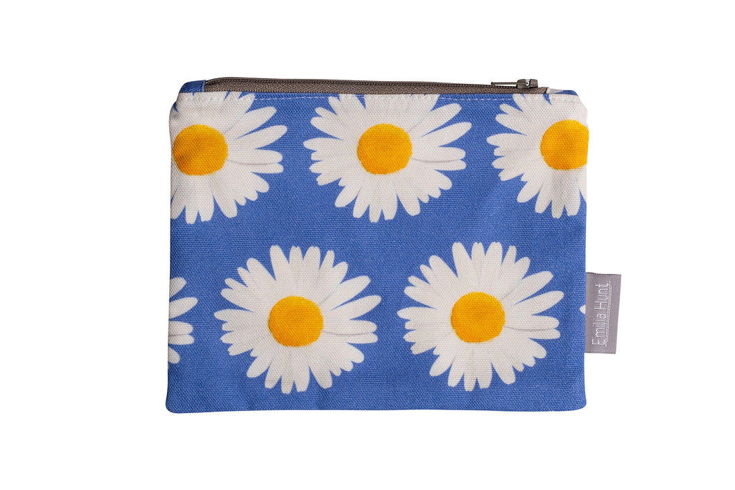 Daisy Zip Pouch - Medium