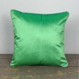 Avocado Velvet Cushion