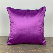 Pansy Velvet Cushion