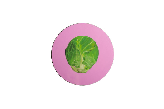 Pink Sprout Coaster