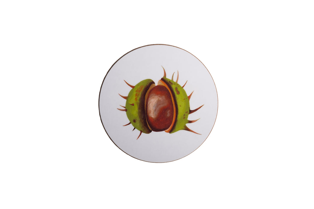 White Conker Coaster