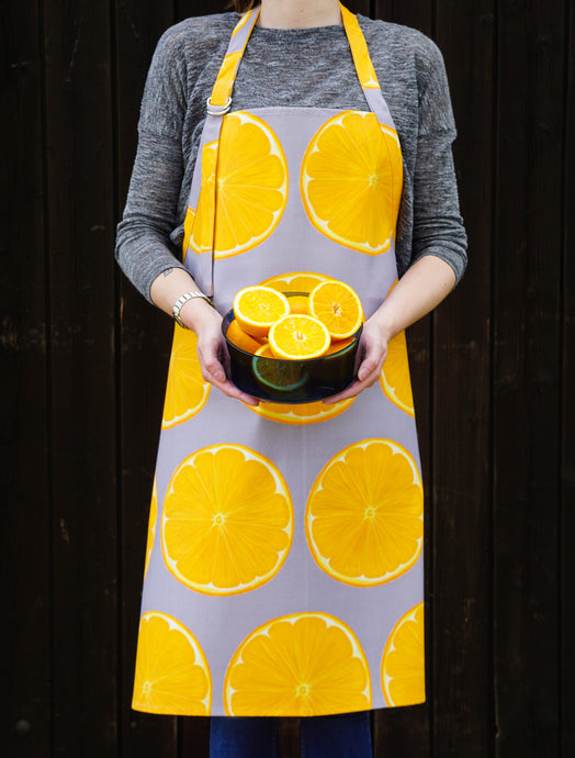 Orange Slice Adult Apron