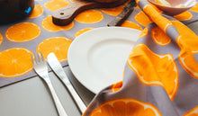 Orange Slice Napkin