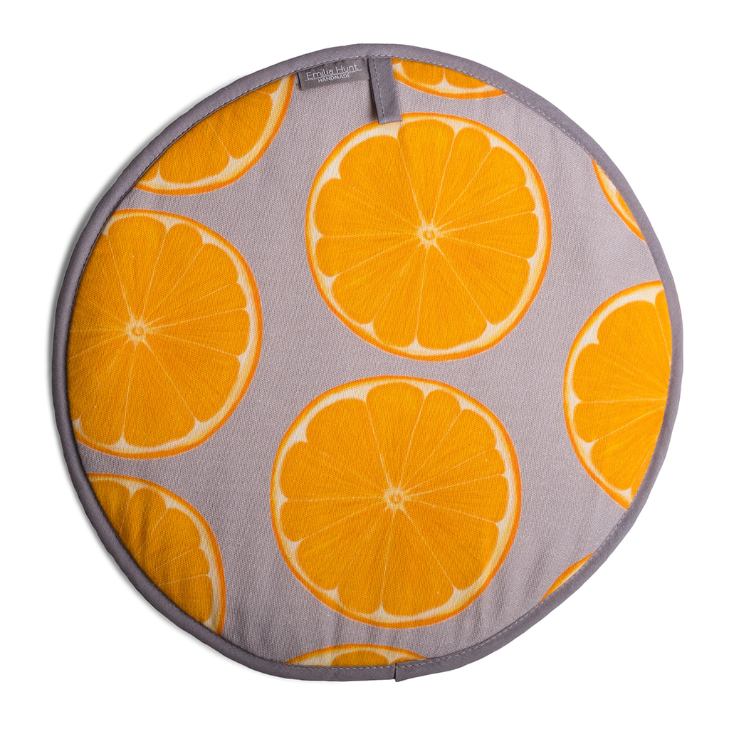 Orange Slice Aga Covers