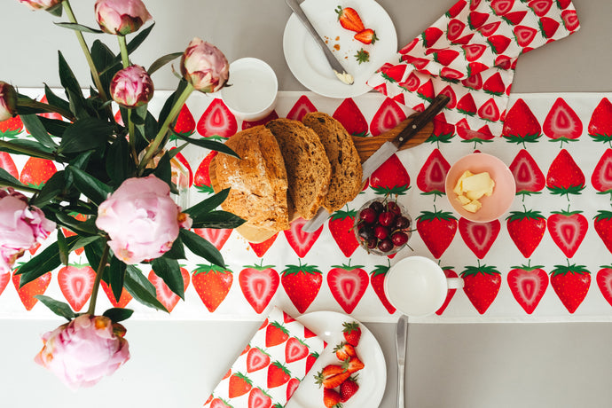 Strawberry Table Runner