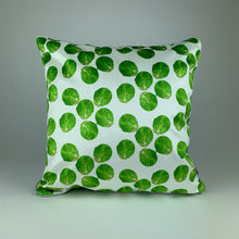 Load image into Gallery viewer, White Sprout Velvet Cushion