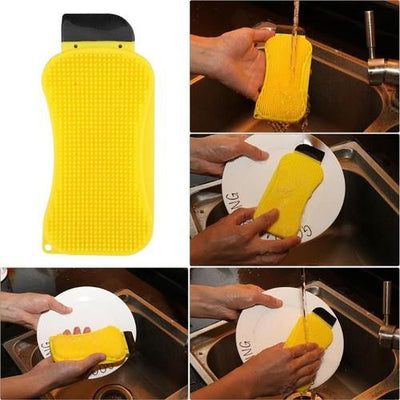 3-in-1 Silicone Cleaning Sponge™