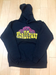 #BballCrazy Rose pullover hoodie