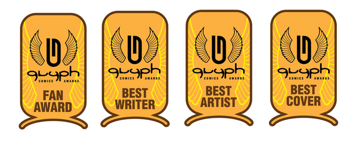 Crescent City Monsters Wins Glyph Comic Awards: Best Writer, Best Artist, Best Cover, Fan Award for Best Work