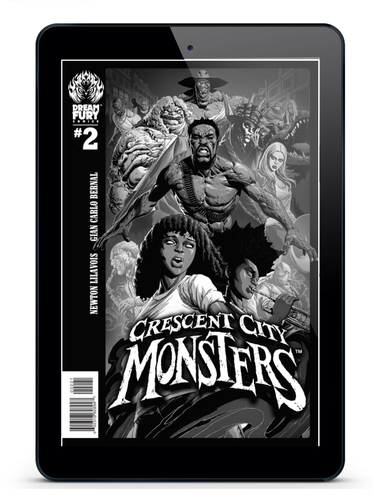 DIGITAL COPY: Crescent City Monsters #2 (PDF)