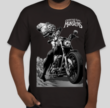 Load image into Gallery viewer, Black t-shirt design from the variant cover first issue of the Crescent City Monsters.of the