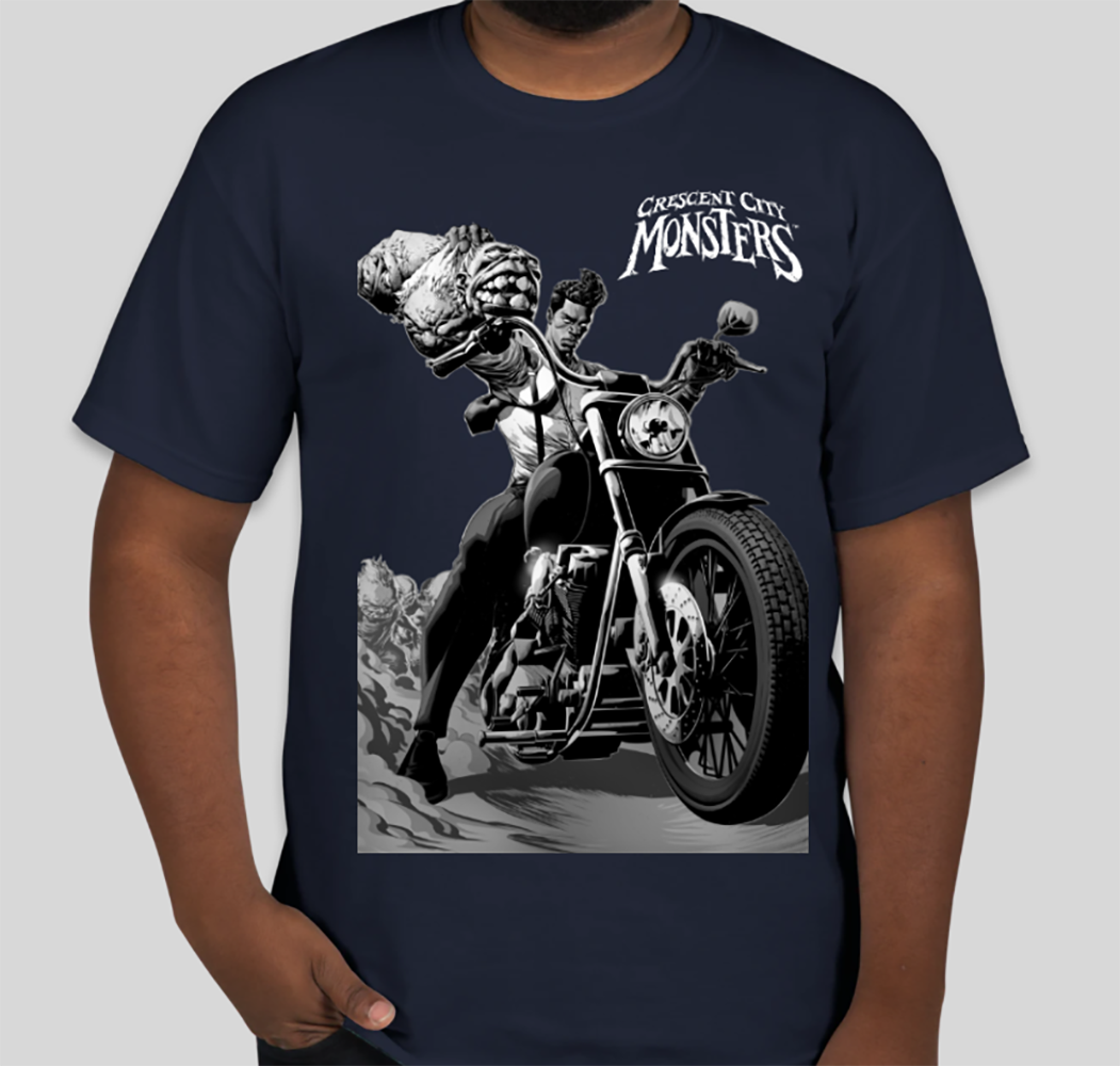 Jonas Variant (Men's T-shirt NAVY)