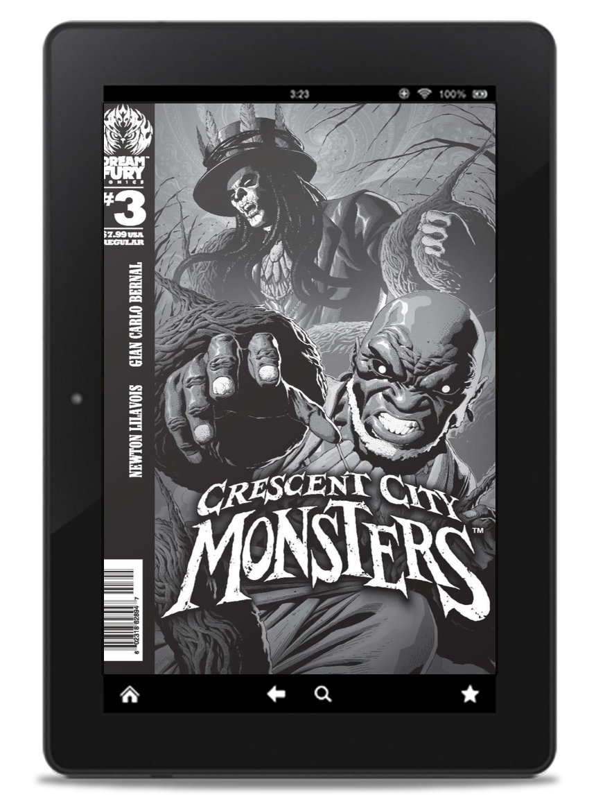 DIGITAL COPY: Crescent City Monsters #3 (PDF)