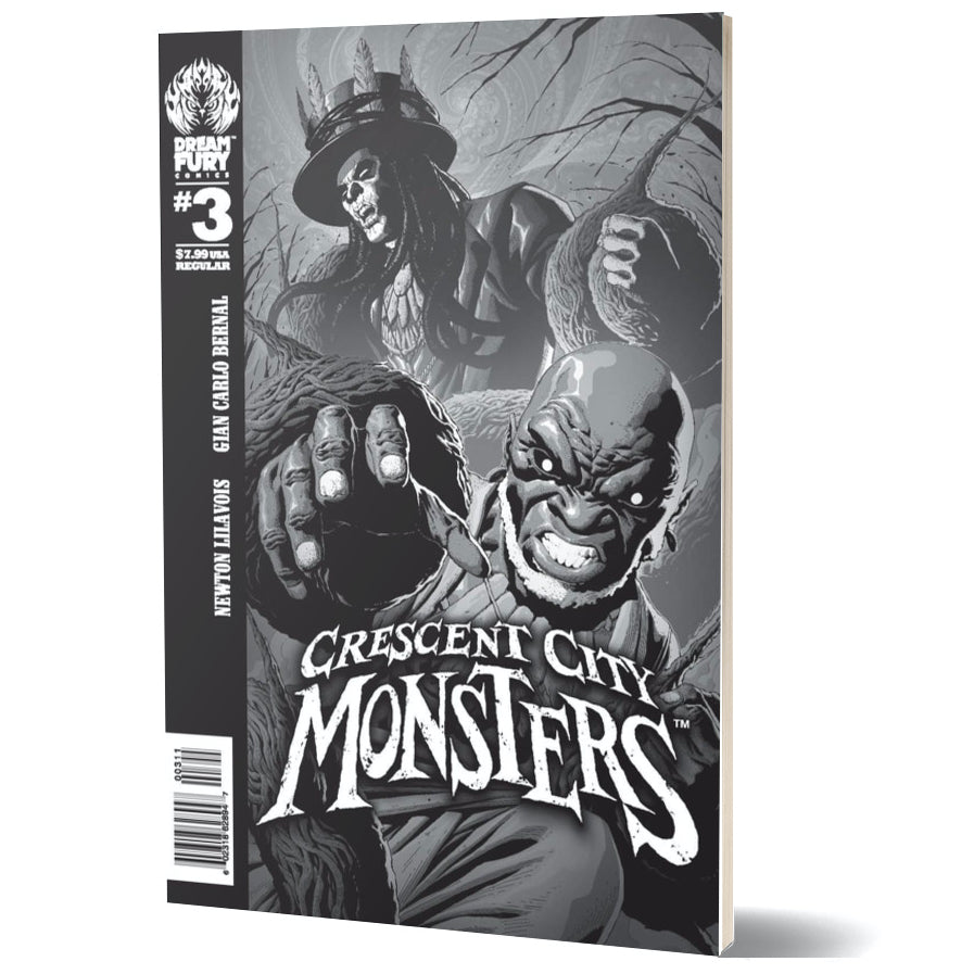 Crescent City Monsters #3 (Regular Cover)
