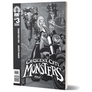 Crescent City Monsters #3 (Variant Cover)