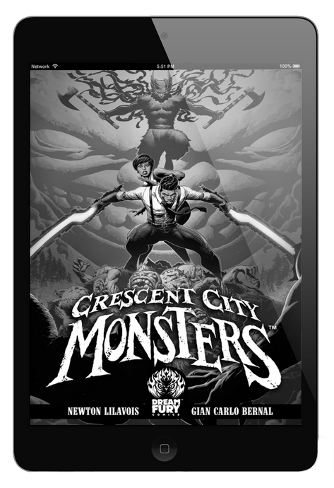 DIGITAL COPY: Crescent City Monsters #1 (PDF)