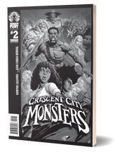 Load image into Gallery viewer, Crescent City Monsters #2 (Variant Cover)