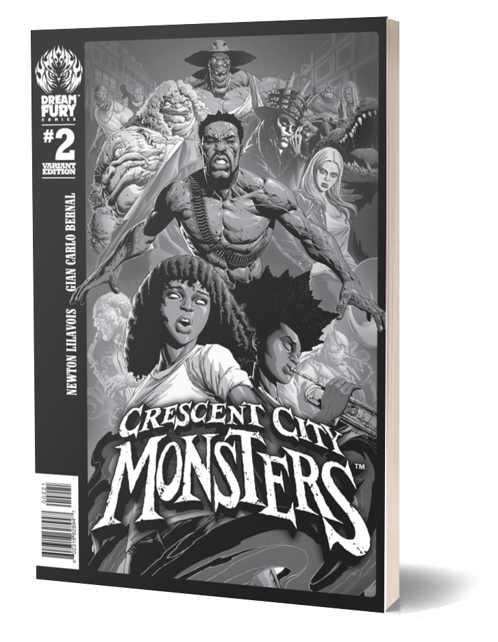 Crescent City Monsters #2 (Variant Cover)
