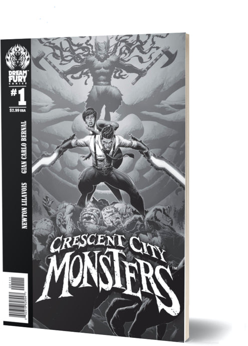 Crescent City Monsters #1 (Regular Cover)