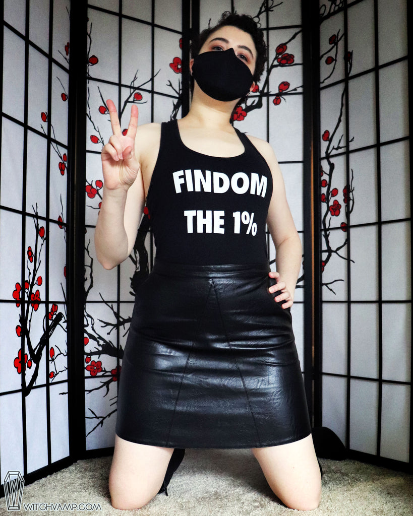 FINDOM THE 1% Tank Top Shirt - 20% Off