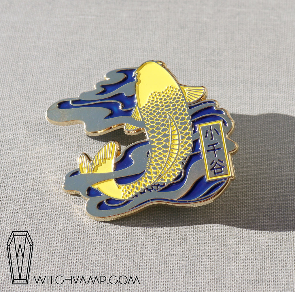 Ojiya Koi - 6 Enamel Pin Set