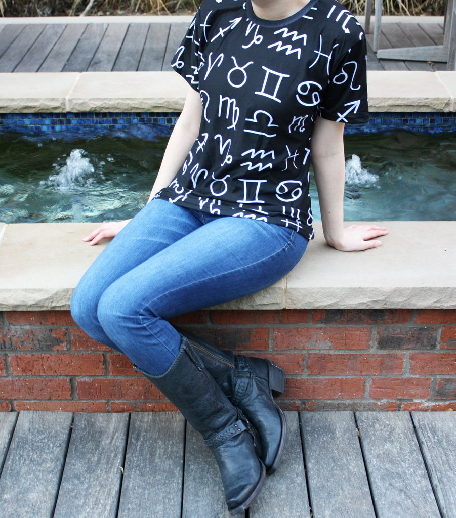 Astrology T-shirt - 56% Off