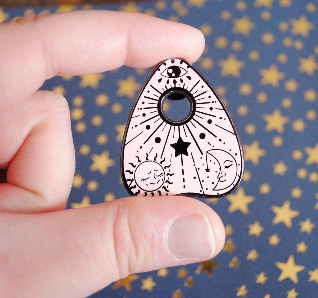 3 Planchette Enamel Pin Set