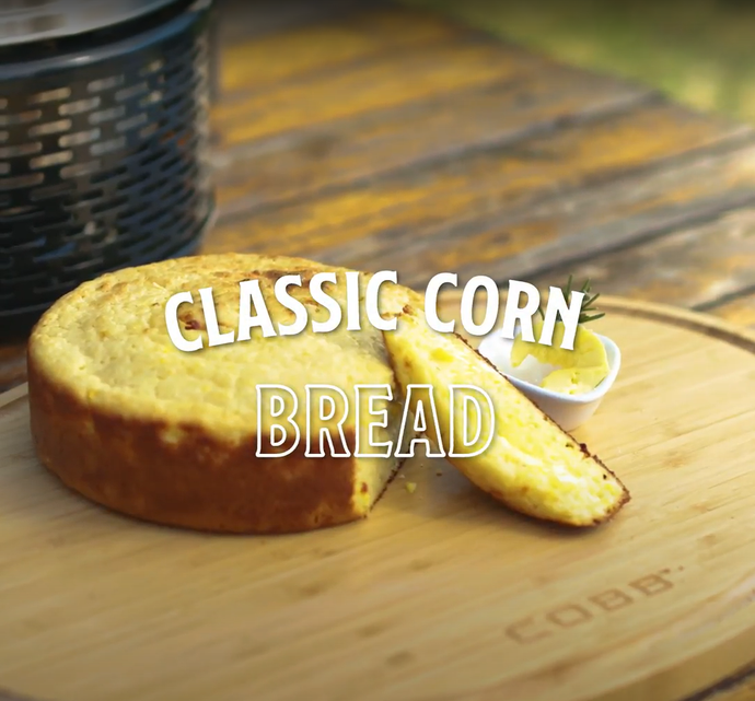 Corn Bread on the Cobb Cooker